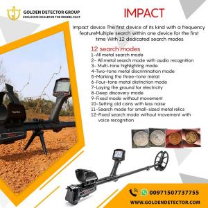 IMPACT Multi Frequency Metal Detector by Nokta