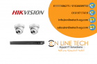 عرض تركيب ٢ كاميرا مراقبة 2 ميجا بيكسل Hikvision