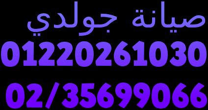 الخط الساخن صيانة ثلاجات جولدى المنوفية  01093055835