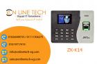 جهاز الحضور والانصراف ZKTeco-K14 - شركة اون لاين تك